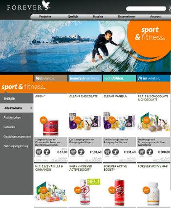 super popular aa75c 86f10 Forever Living Products Shop Deutschland - Shop Forever FLP ...